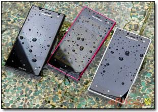 Пыле- и влагозащищенный Xperia acro S