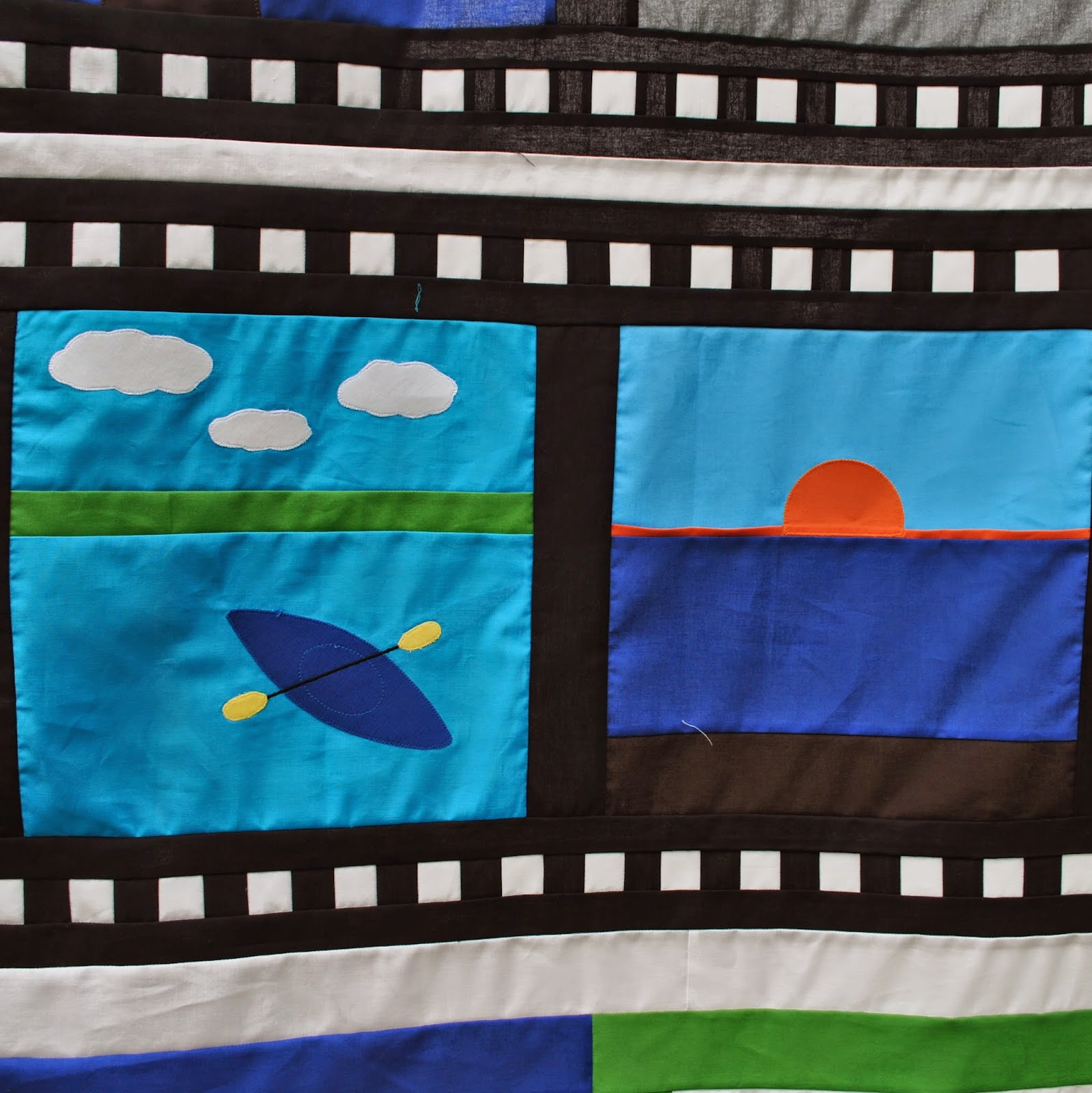 Camera Quilt - film strip 2