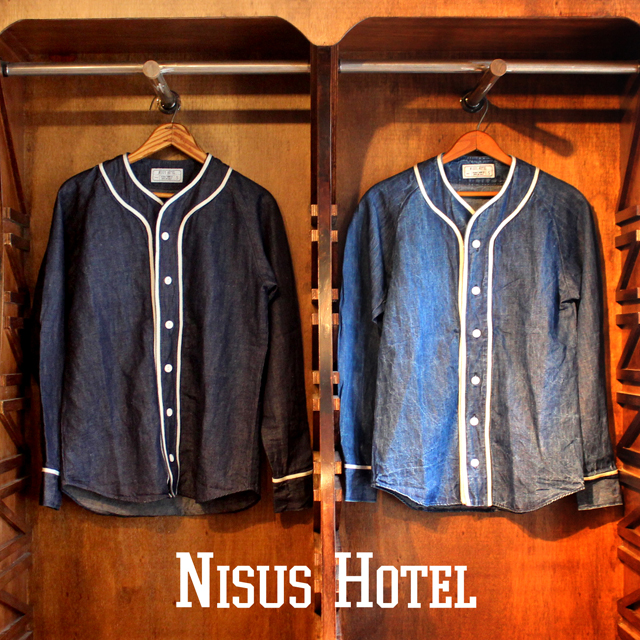Nisus Hotel Indigo Baseball Shirts