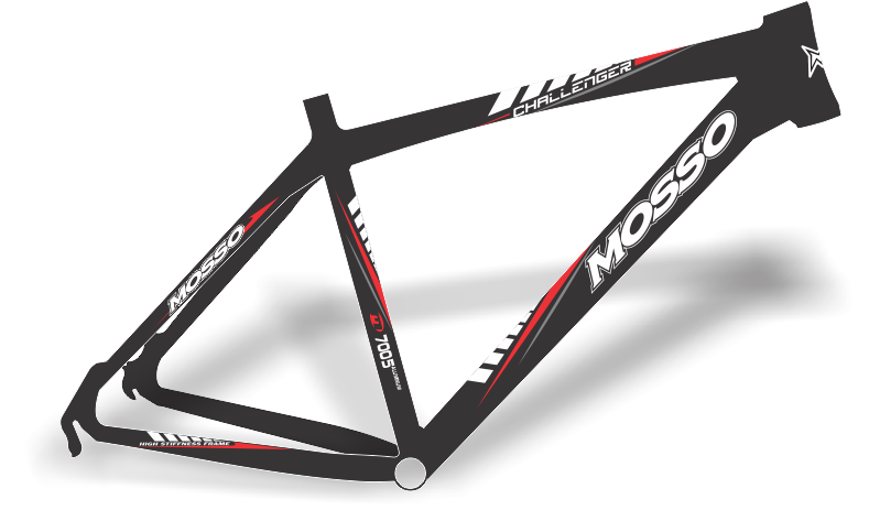 Armario Capsula Masculino ~ Stickers Design Adesivo bike Mosso Challenger