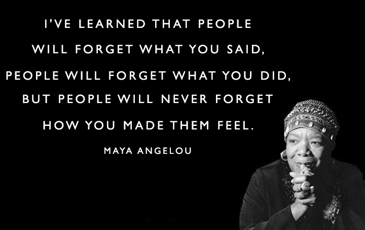 Maya Angelou, quotes
