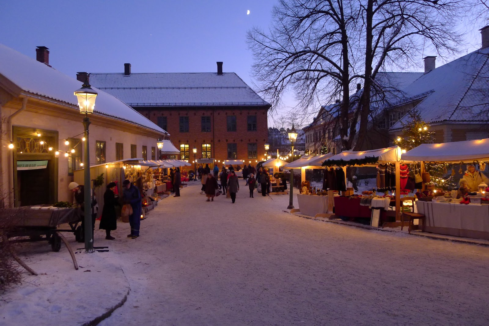 Christmas market at Norsk Folkemuseum. Photo: Innovation Norway.