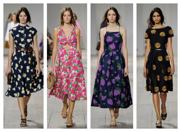 coleccion primavera verano 2015 de Michael Kors vestidos
