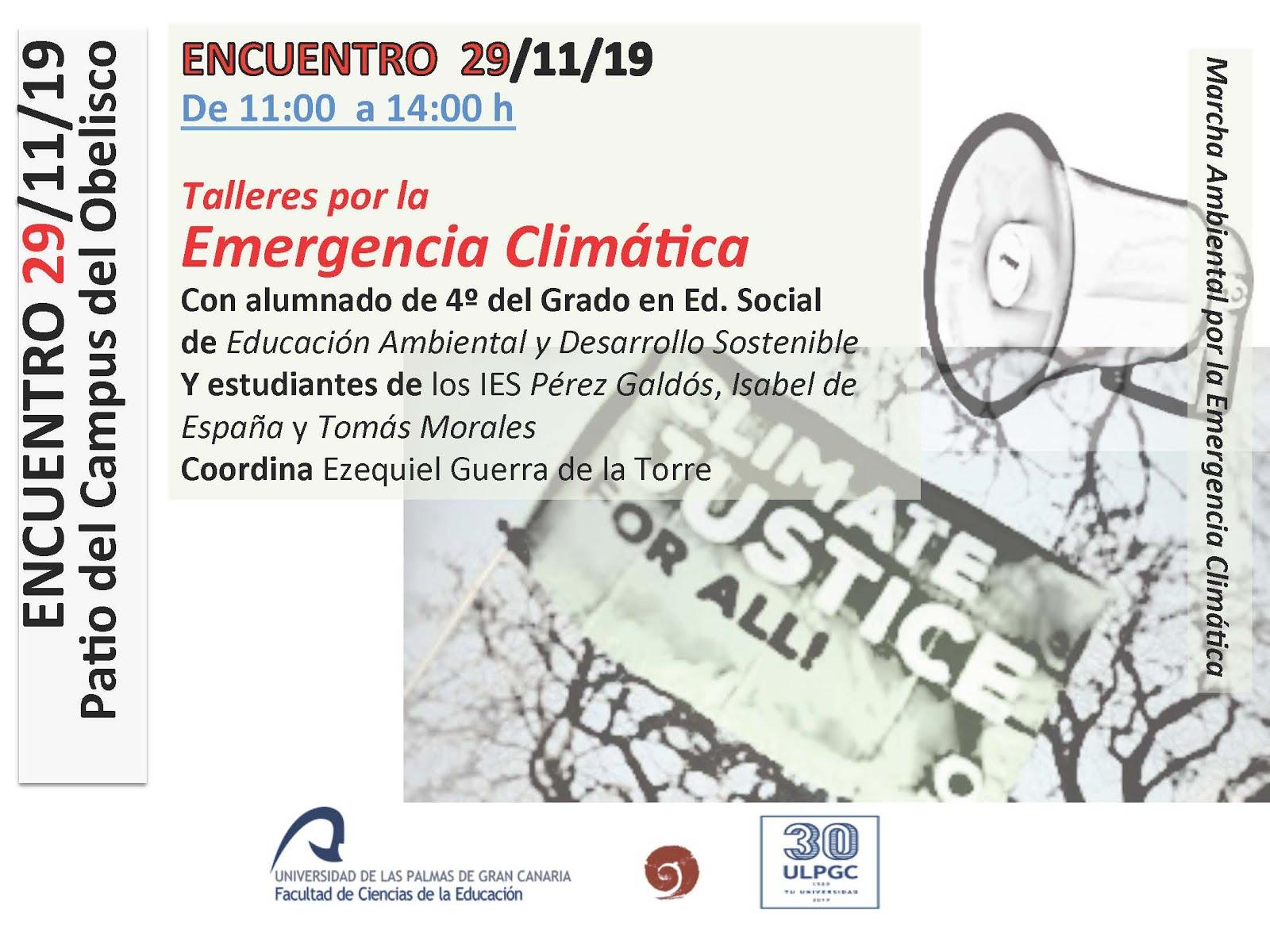 Encuentro emergencia climática (29/11/19)