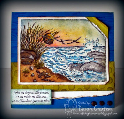 Our Daily Bread Designs, The Mighty Sea, Dana's Creations
