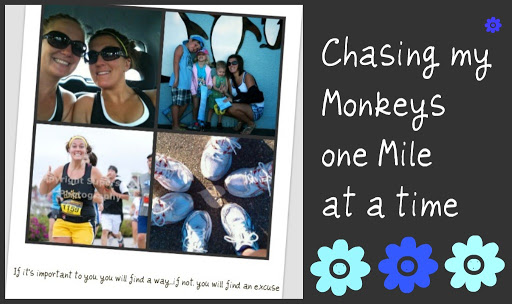 Chasing my Monkeys 1 mile at a time...