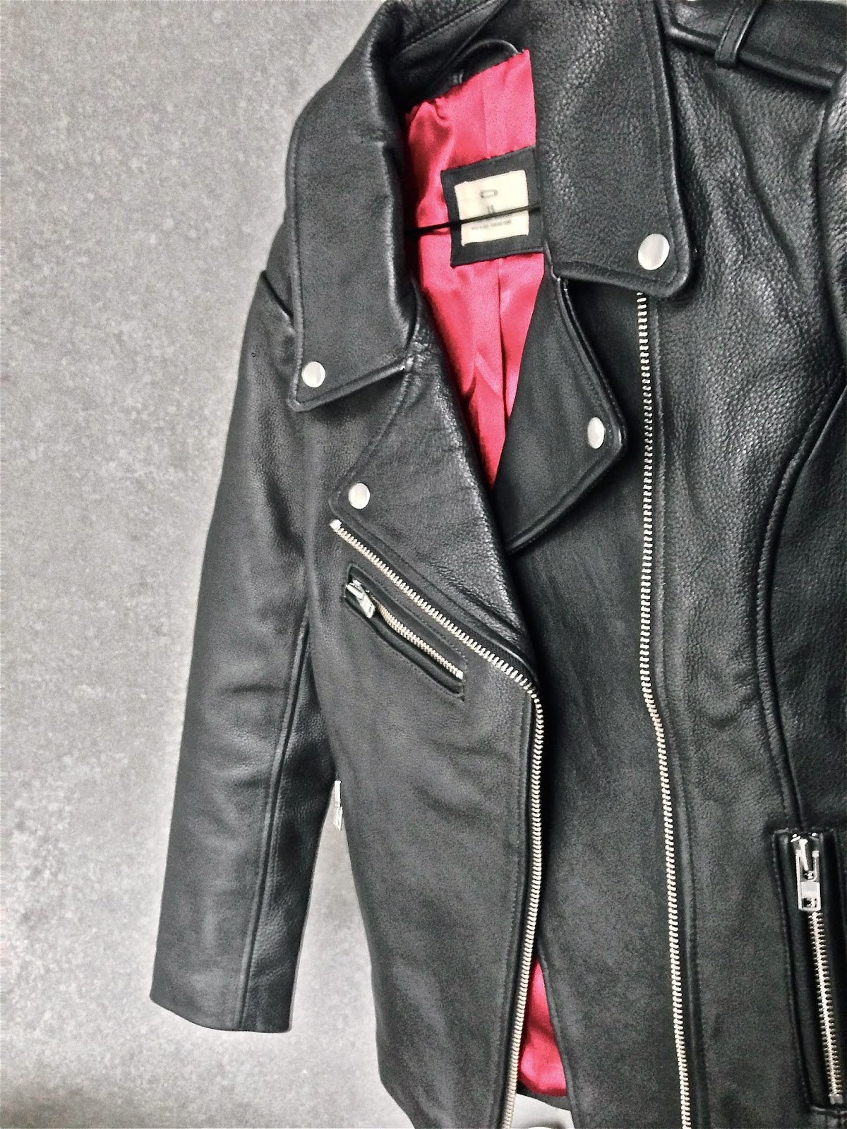 Urban Outfitters, Pins and Neddles, Leather Biker Jacket