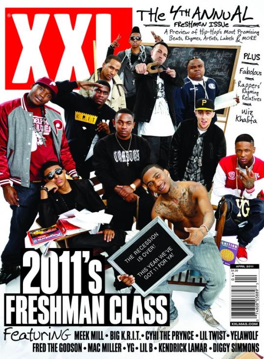 News // La Couv XXL, Les Freshmen 2011 Dévoilés