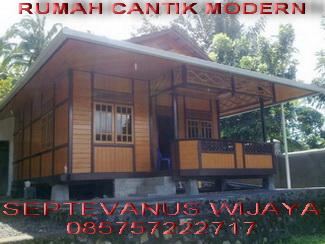 RUMAH PANGGUNG WOLOAN (Knock Down) | Rumah Kayu Woloan