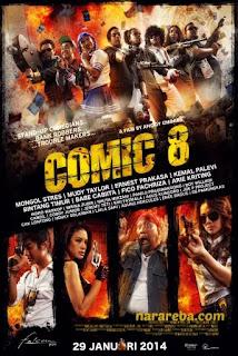 """Nikita Mirzani dalam film """"Comic 8"""" (2014)"""