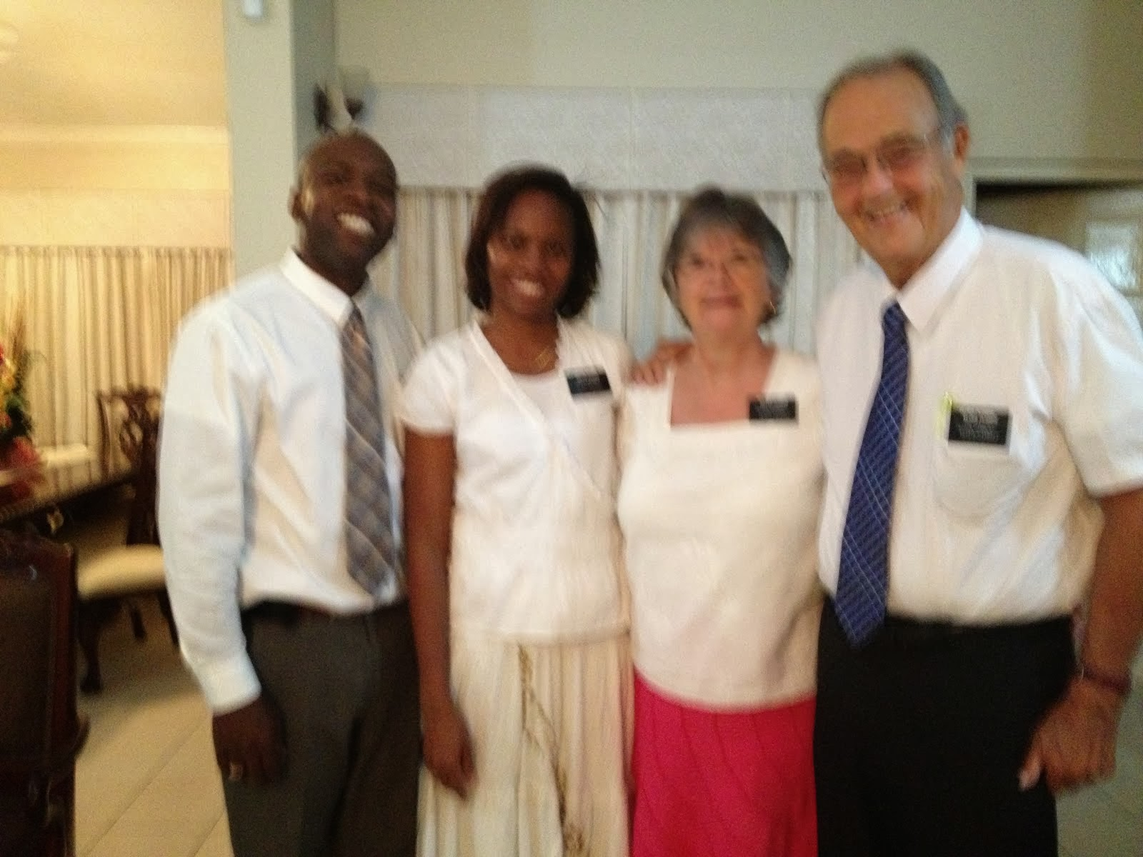Elder and Sister Pugmire with President and Sister Brown