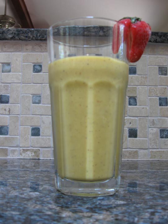 Healthy, Fit, Ageless: Kiwi, Banana, Honey Mango Smoothie Recipe
