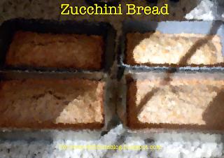 zucchini bread recipe, zucchini bread