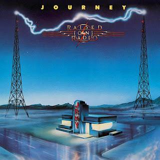 Journey Raised on radio 1986 aor melodic rock music blogspot full albums bands lyrics