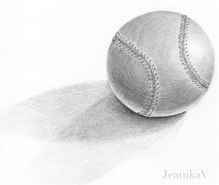 Drawing of a ball