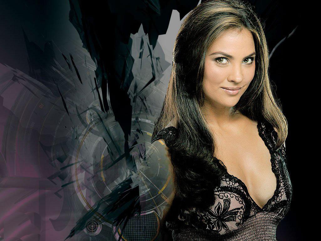 Hot Bollywood Actress Lara Dutta Beautiful Desktop Wallpapers ...