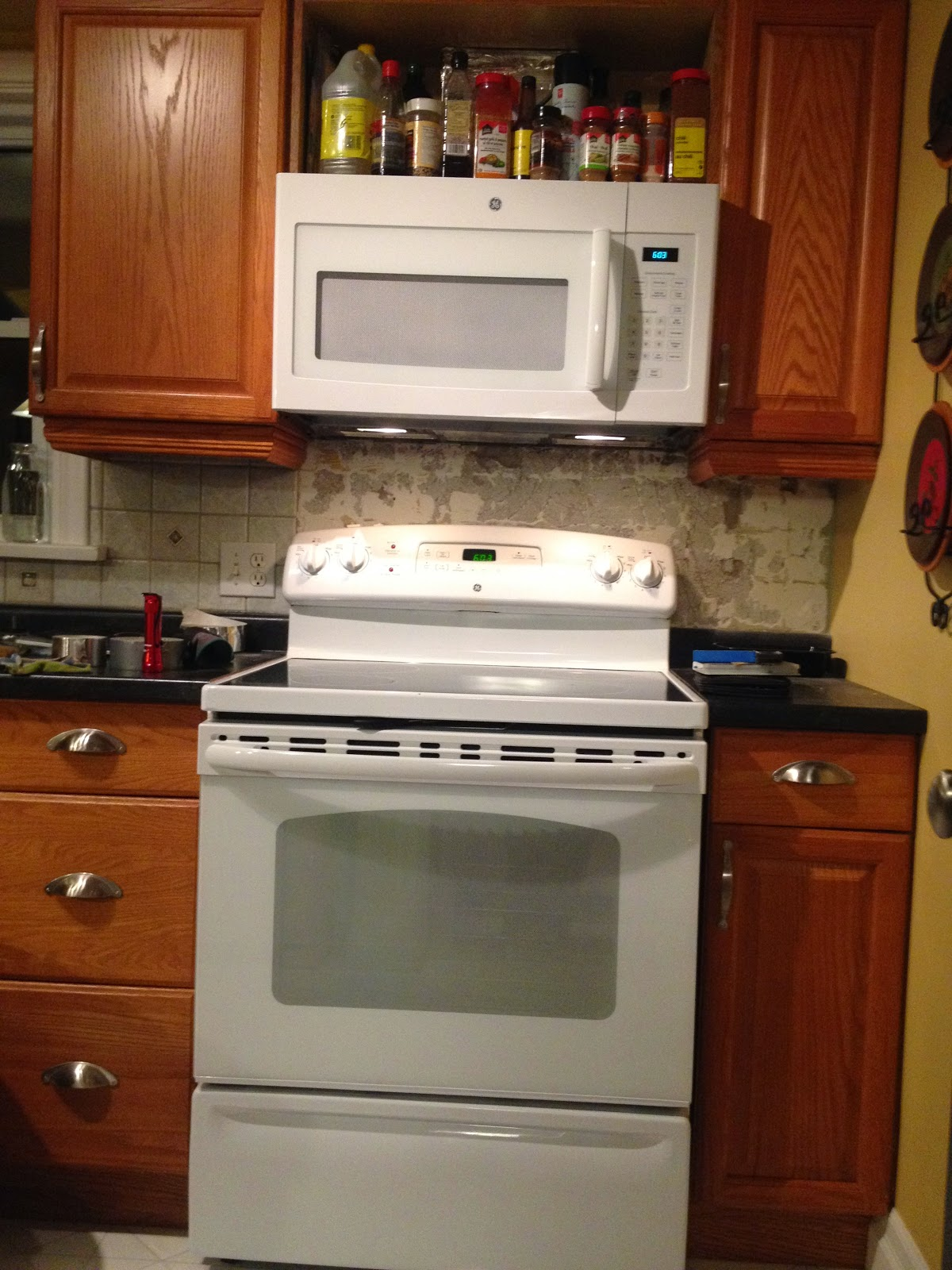 Hack Your Kitchen for an Over the Range Microwave (Kitchen Update ...