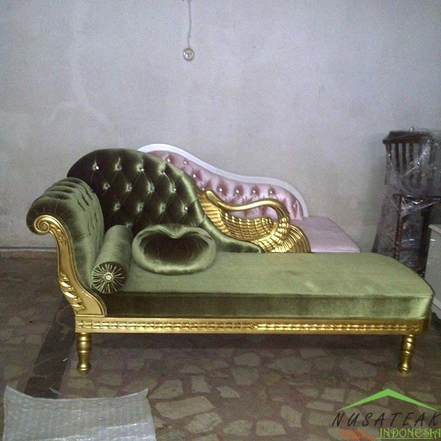 Mahogany Chaise Lounge Rodero