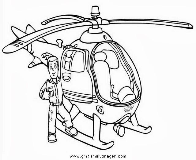 Malvorlage Feuerwehrmann Sam kostenlos 3 - malvorlagen feuerwehrmann-sam kostenlos
