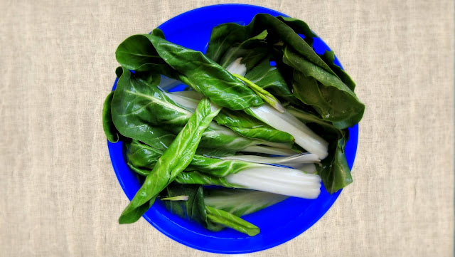 pressure cooker bok choi or white mustard greens or chinese cabbage or biete how to clean and but them