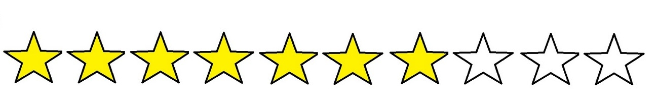 Image result for 7 out of 10 stars