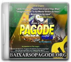 CD Pagode Mania - Homenagens (2012)