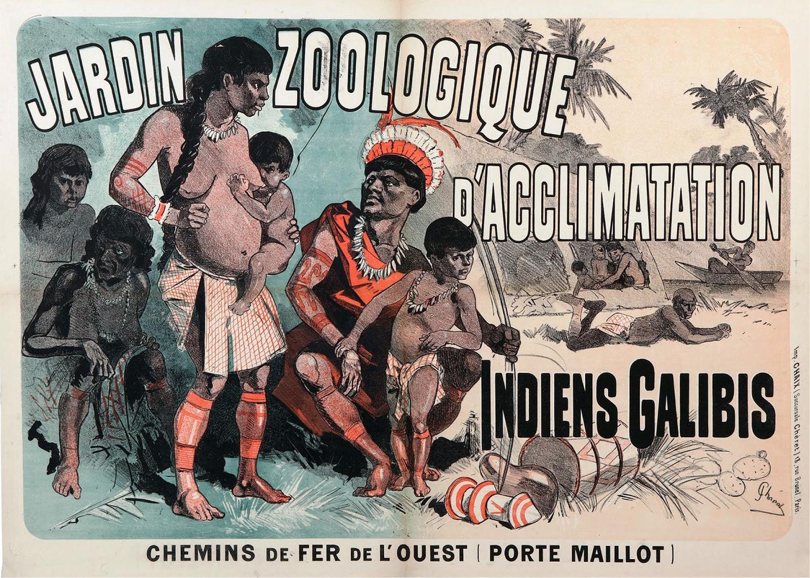 France Jardin D Acclimatation From Human Zoo To Disneyland Avant