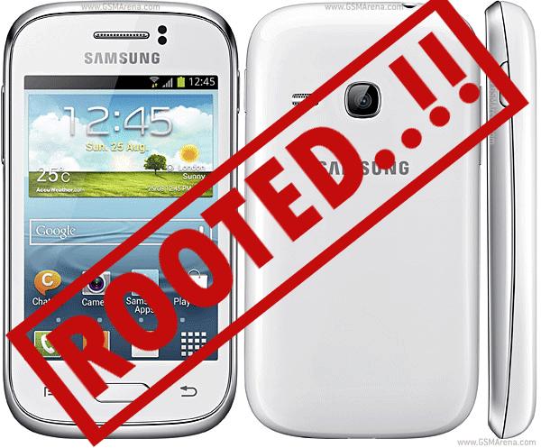 Cara Root Samsung Galaxy Young GT-S6310 Tanpa pc - cara aQbar