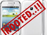 Cara Root Samsung Galaxy Young GT-S6310 Tanpa pc