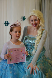 ALYSSA AND PRINCESS ELSA