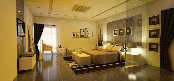 jasa desain interior rumah minimalis kamar tidur ruang