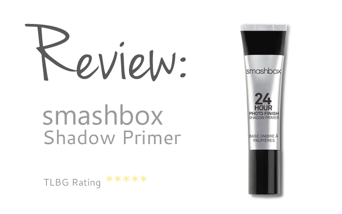 Review: Smashbox 24 Hour Photo Finish Shadow Primer