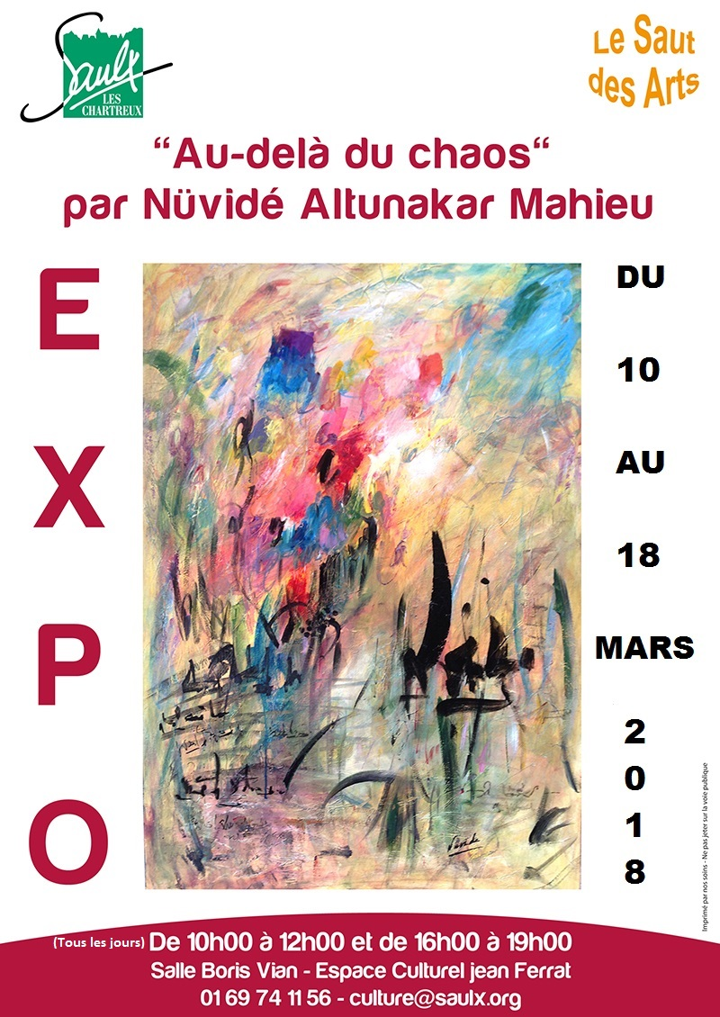 SAULX LES CHARTREUX: exposition 10 au 18 mars  au CC Jean Ferrat
