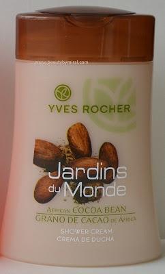 Yves Rocher African Cocoa Bean Shower Cream