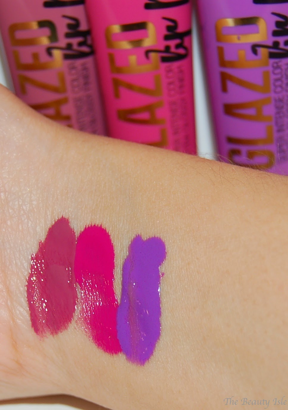 L.A. Girl Glazed Lip Paints