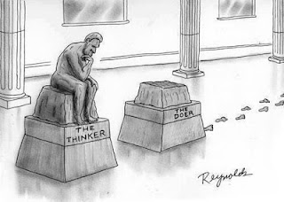 thinker vs doer, comic