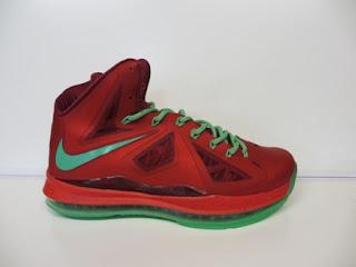 Nike Lebron 10 Merah