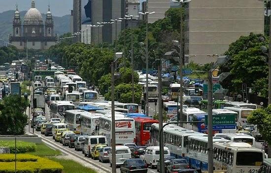 Rio de Janeiro, campeã de engarrafamento
