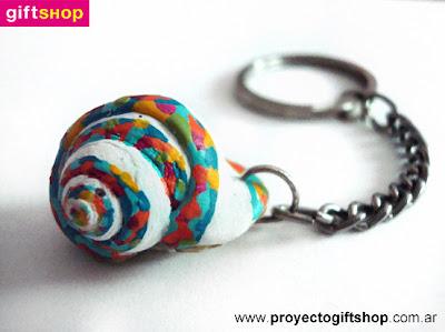 arteBA'11 | giftSHOP: llavero caracol