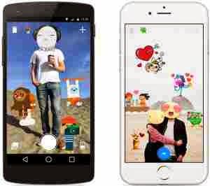 Facebook presenta nueva aplicación para aplicar stickers en las fotos que enviamos por Messenger