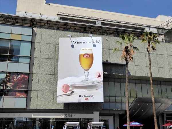 Stella Artois Wine is so cliché billboard