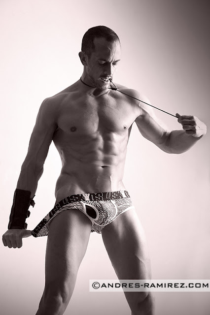 Jaime Abella by Andres Ramirez in 4skins underwear
