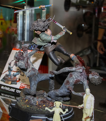 McFarlane Toys The Walking Dead 2013 Toy Fair Display - Michonne Statue