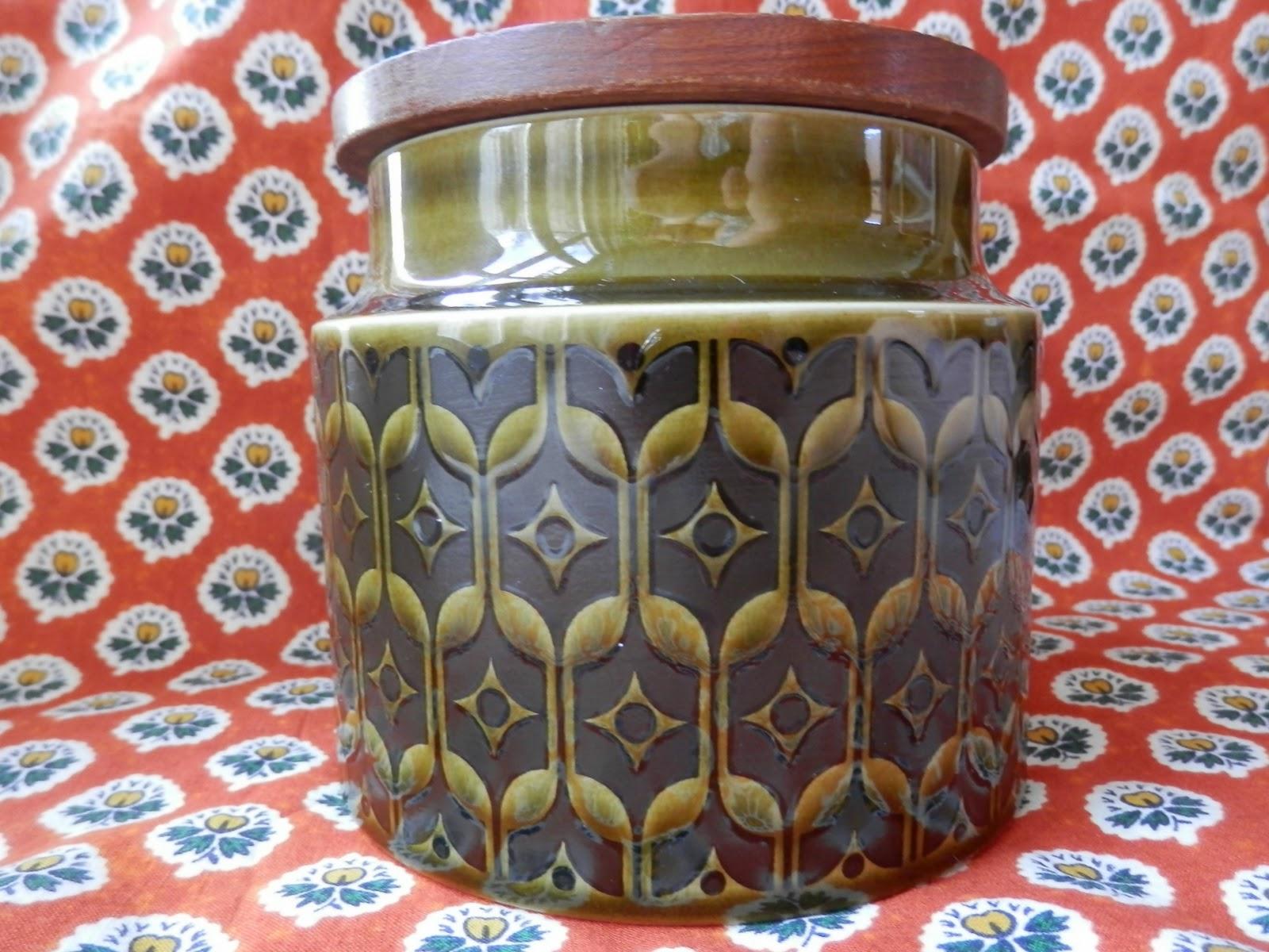 Charity Shop Treasure, Miserable Worm Toy and Hornsea Green Heirloom Jar
