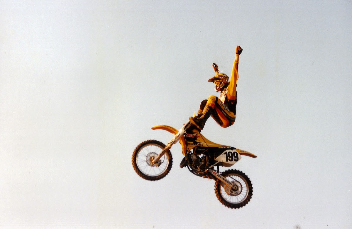 Travis Pastrana FMX Steel City 1998