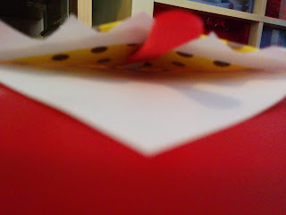 Inside a bookmark