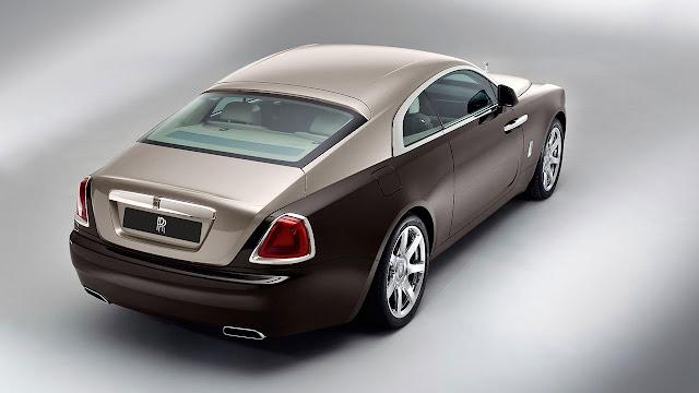 Rolls-Royce Wraith rear side