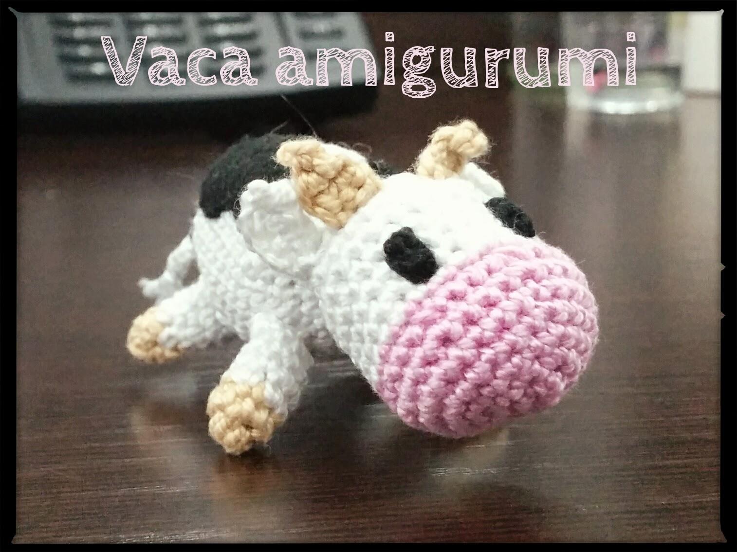 Vaca Lechera Amigurumi : Los chiribiquis de Winga: Vaca amigurumi