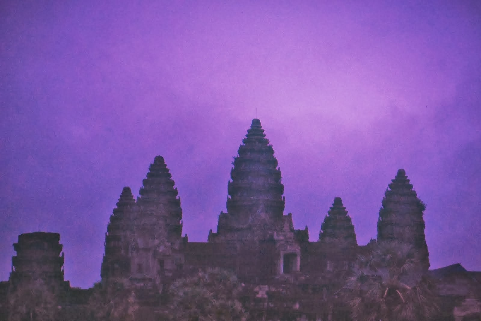 ANGKOR WAT PURPLE