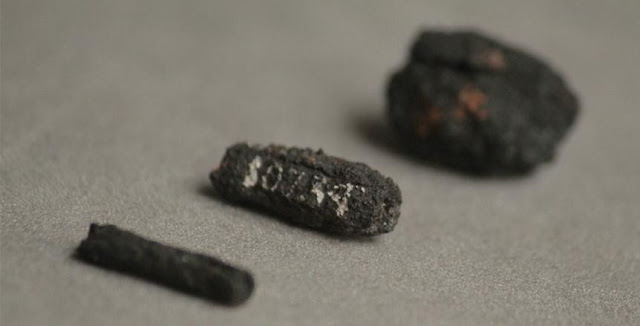 Earliest known iron artefacts come from outer space. Credit: University College London